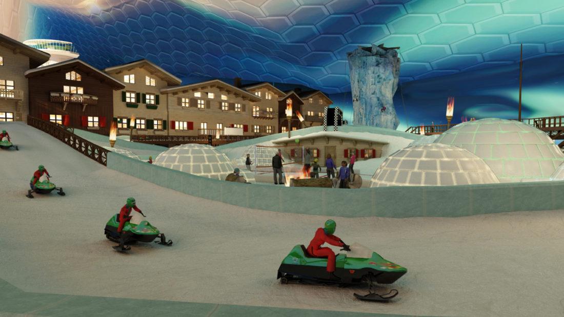Unlimited Snow : Indoor Snow Parks - Arctic Kart